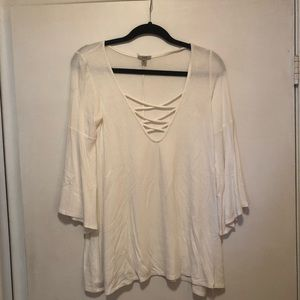 Urban Outfitters Bell Sleeve Blouse